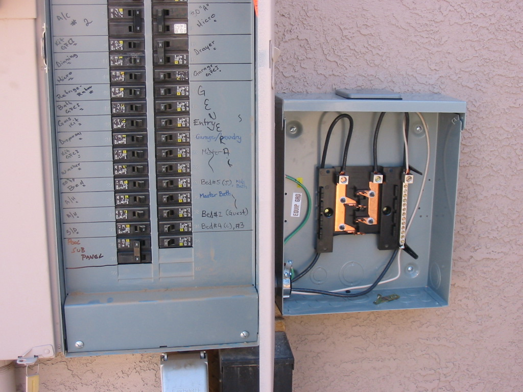 Build Your Own Pool How I Built My Swimming To Electrical Wiring Circuitbreaker Electricalpanel