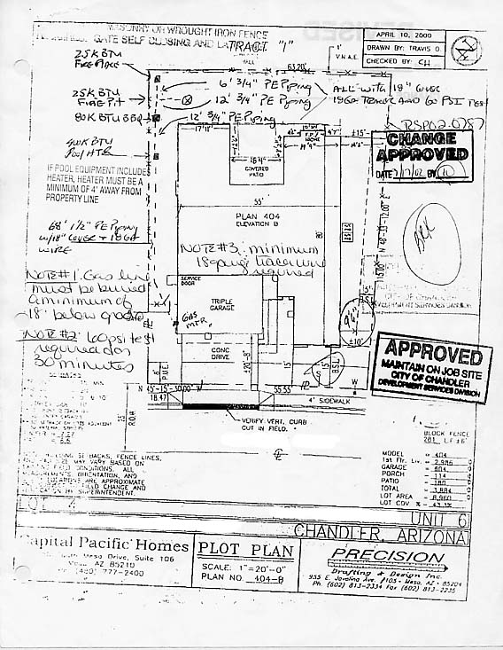 Gas Permit U0026 Site Plan