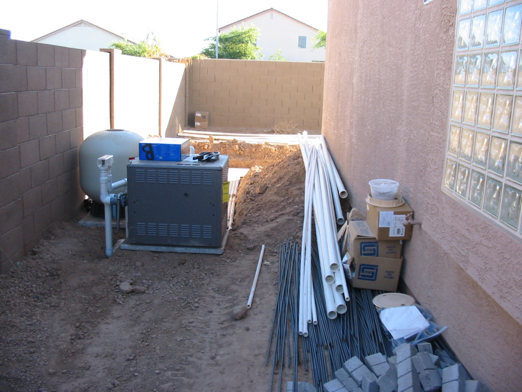 Build your own pool how i built my own swimming pool for Pool plumbing design